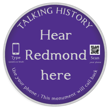 Talking History Plaque